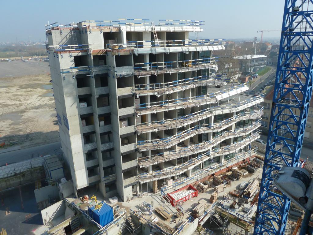 Van Tornhaut - Crystal Residence - Bouwen van 115 appartementen en 189 ondergrondse parkeerplaatsen te Oostende