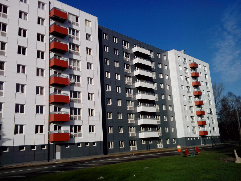 Van Tornhaut - Papeleupark - Renovatie van 100 appartementen te Gent