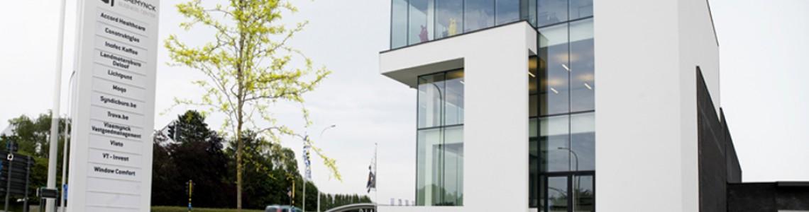 Vlaemynck Business Center (VBC), gerealiseerd door Van Tornhaut