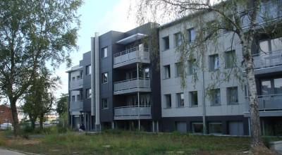 Van Tornhaut - Uitbreiding en renovatie van appartementsgebouw - Wetteren